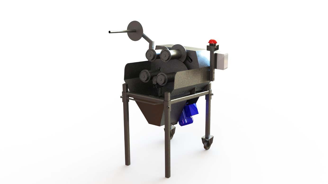 wortel inwikkel machine